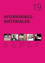 AFDÆKNINGS- MATERIALER - C. Flauenskjold A/S
