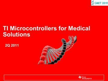 TI Microcontrollers for Medical Solutions