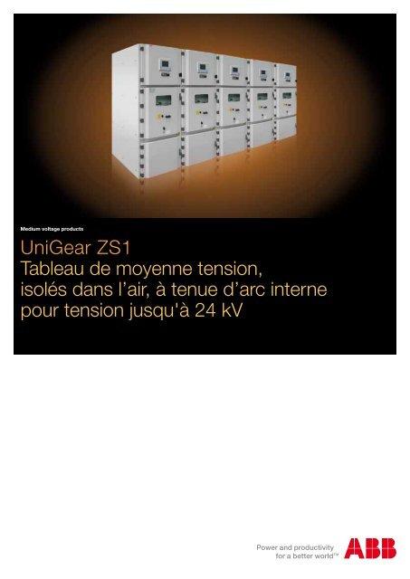 Unigear Zs1 Tableau De Moyenne Tension Isoles Dans L Air A Tenue