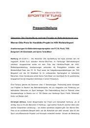 PM Verleihung Werner-Otto-Preis