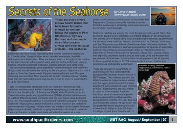 Secrets of the Seahorse By Dave Harasti