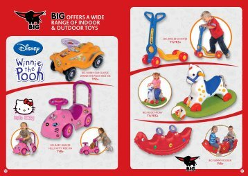BIG offers a wide range of indoor & outdoor toYs