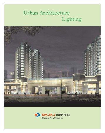 Urban Architecture Lighting - Bajaj Electricals
