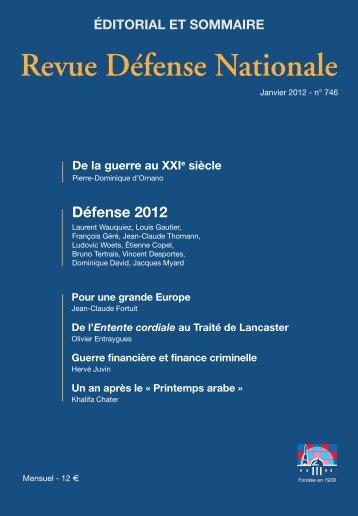 De la guerre au XXIe siècle - Revue Défense Nationale