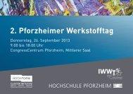 Flyer - Wirtschaft und Stadtmarketing Pforzheim | WSP