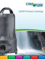 2009 Cal Pond Pumps Catalog   Pondliner.com