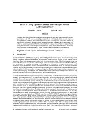 Impact of Query Operators on Web Search Engine Results : An ...