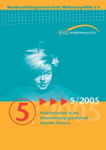 Download - Bundesarbeitsgemeinschaft Mädchenpolitik