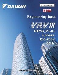 VRV III Heat Pump (208-230V) - Daikin AC
