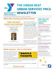 April 2013 Edition - YMCA of San Francisco