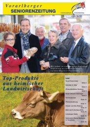Ausgabe Mai 2012 - Vorarlberger Seniorenring