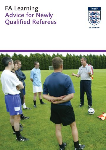 Advice for Newly Qualified Referees - The Football Association