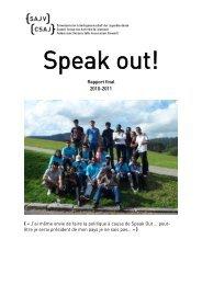 Rapport d'évaluation, 2011 , 492.3 KB - SAJV