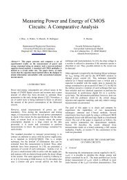 Measuring Power and Energy of CMOS Circuits - Escuela ...