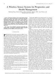 A Wireless Sensor System for Prognostics and ... - ResearchGate