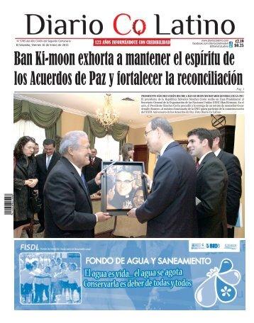 Edición 16 de Enero de 2015