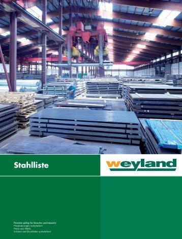 Stahlliste 2011