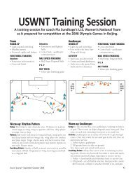 USWNT Training Session - National Soccer Coaches Association of ...