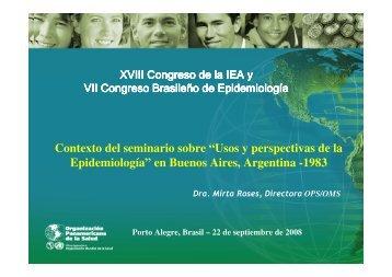 en Buenos Aires, Argentina -1983 - Epi2008