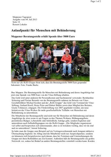 Partnervermittlung fur menschen mit behinderung berlin