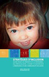 stratégies d'inclusion - Site Web à vocation éducationnel de l'UQO