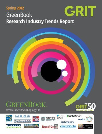 Research Industry Trends Report Spring2012 - GreenBook