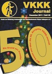 Journal 50 ganz - VKKK