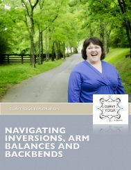 navigating inversions, arm balances and backbends - Curvy Yoga