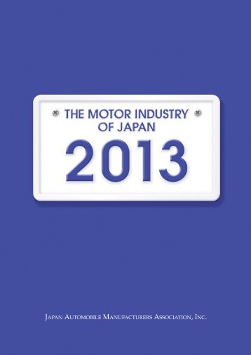 May 2013 - Japan Automobile Manufacturers Association, Inc