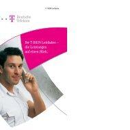 T-ISDN-Bedienungsanleitung der Telekom (PDF, 147 KB - Netzmafia