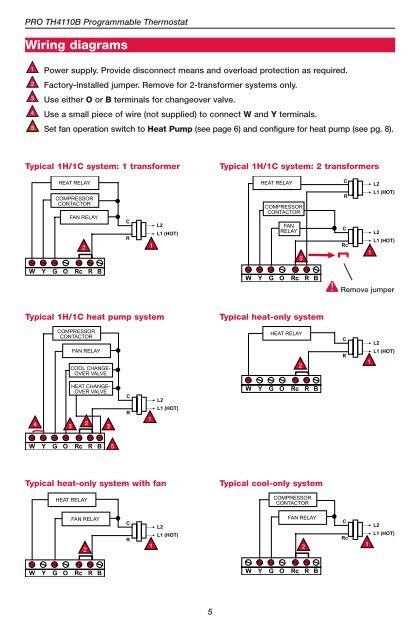 heat only thermostat wiring diagram installation guide wiring  installation guide wiring
