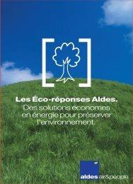 Les Éco-réponses Aldes. Des solutions économes en énergie pour ...