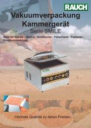 Direktvermarktung Vakuumverpackung Kammergerät