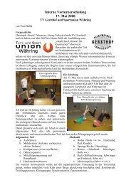 Bericht - Sportunion Währing