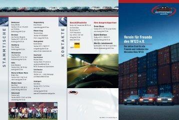VfW123, Flyer 07/12.qxd - Verein für Freunde des W123 eV