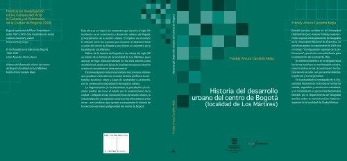 Historia del desarrollo urbano del centro de Bogotá - Secretaría de ...