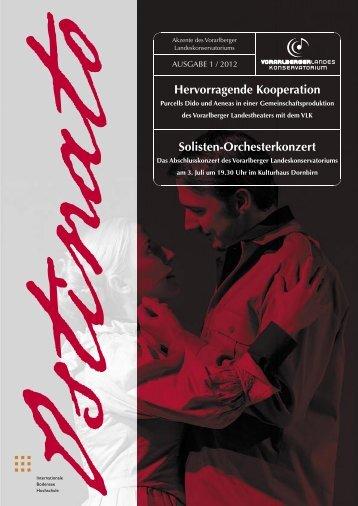 Solisten-Orchesterkonzert - Vorarlberger Landeskonservatorium