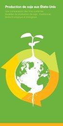 Production de soja aux États-Unis - SoyConnection.com