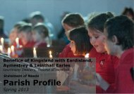Parish Profile - The Diocese of Hereford