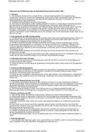 Seite 1 von 3 Marktplatz Emsland - AGB 18.03.2010 http://www ...