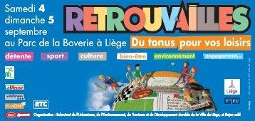 Samedi 4 dimanche 5 septembre au Parc de la Boverie à ... - Cpcp.be