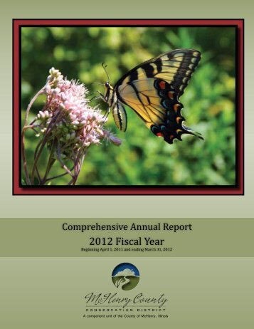 Annual Report - McHenry County Conservation District