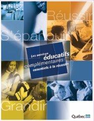 Les services éducatifs complémentaires - Accueil - Gouvernement ...