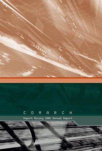 Rok 2001 - Comarch