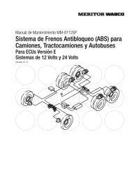 Sistema de Frenos Antibloqueo (ABS) para ... - Meritor WABCO