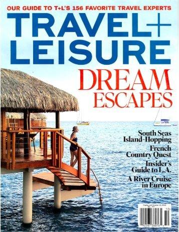 Travel + Leisure - Timbers Resorts