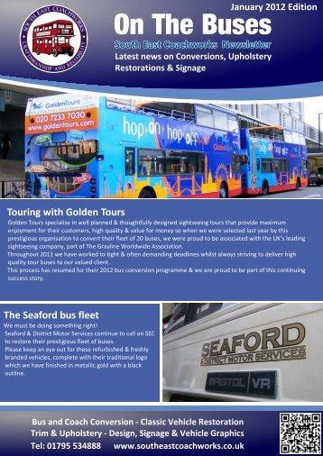 newsletter Jan 2012 - South East Coachworks