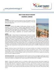 reef oasis beach resort sharm el sheikh - Planetario Viaggi