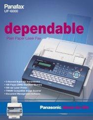 Plain Paper Laser Fax - VMX Inc.