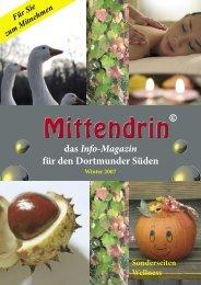 das Info-Magazin für den Dortmunder Süden Winter 2007